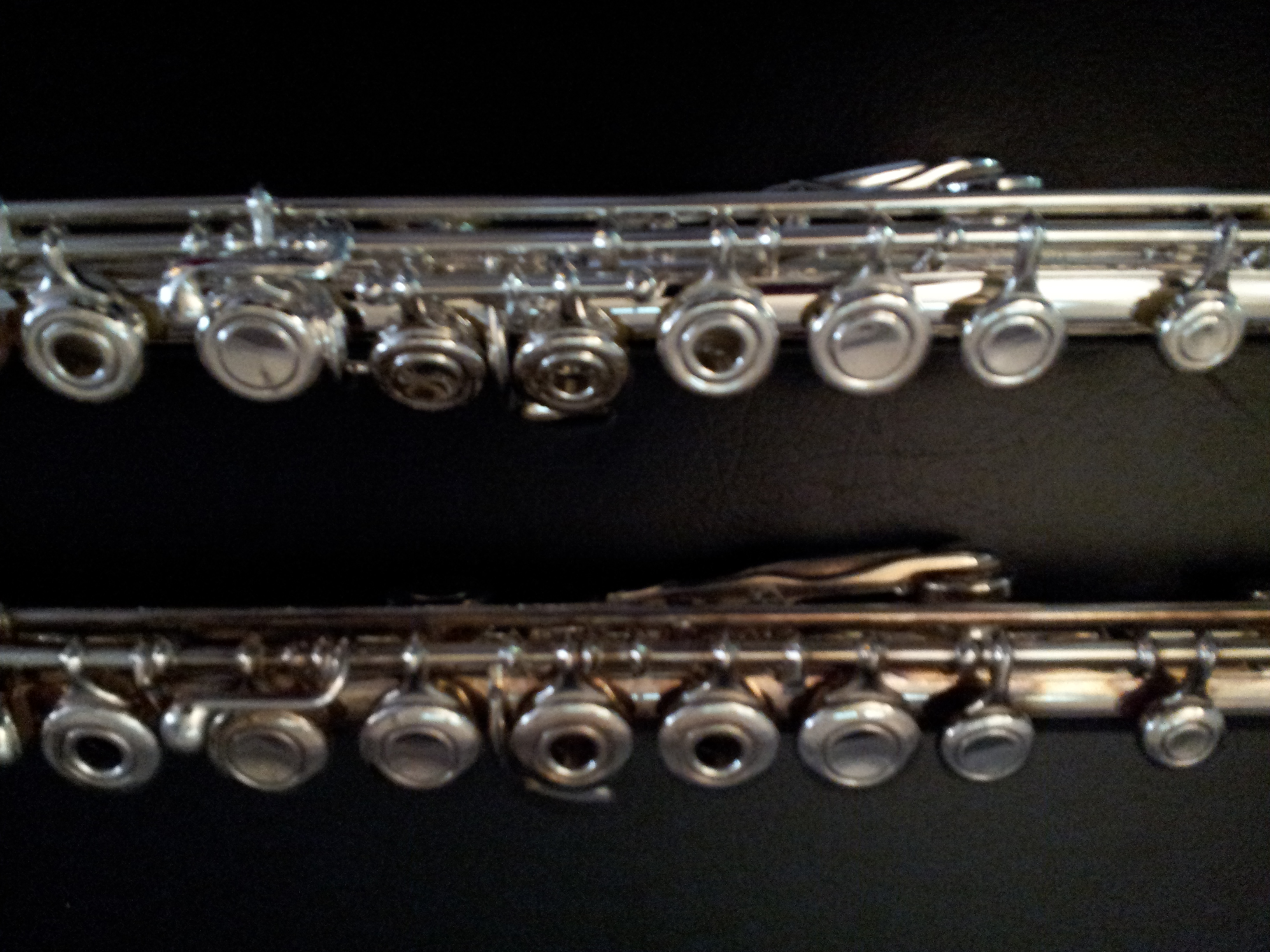 got my new and more ergonomic flute franklin chen