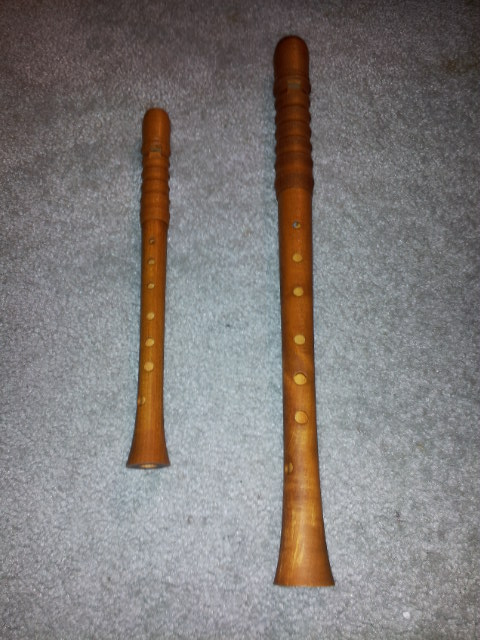 i never expected my first wooden recorders to be