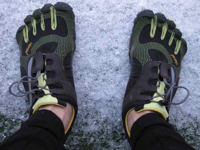 Five Finger Shoes For Winter Running